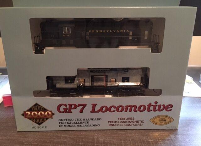 Prossoo 2000 Pennsylvania Railstrada strada  8797 GP7 Locomotive  Item  23564 HO Scale