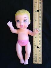 "Disney  My 1st Disney Princess Aurora Baby Ariel 6"" Doll Nude GUC"