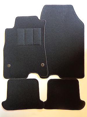 Exlusive Fußmatten Autoteppiche für Renault Megane Cabrio 3 ab Bj.2010- schwarz