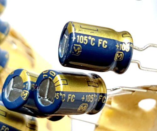 FC 105C High Quality Audio --ref:499 Panasonic 10v 5pieces x 470uF JAPAN