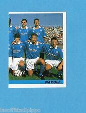 TUTTO CALCIO '94/95-SERVICE LINE-Figurina n.210- SQUADRA DX - NAPOLI -NEW