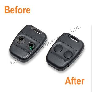 for rover lucas 100 200 400 25 45 2 button remote key fob repair