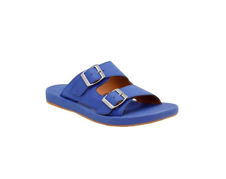 Clarks Women's Paylor Pax Slide,bluee Synthetic,US 8 M