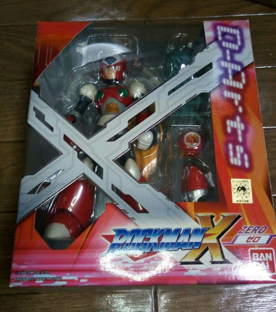 D-arts Rockman X cero 1st versión con efecto de Piezas Mega Man 125mm ABS Usado