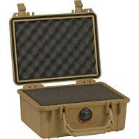Pelican Case W/foam For Camera Small Dslr (tan)