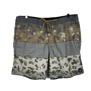 Billabong-Mens-Board-Shorts-Size-36-Swim-Shorts-Camo-Good-Condition