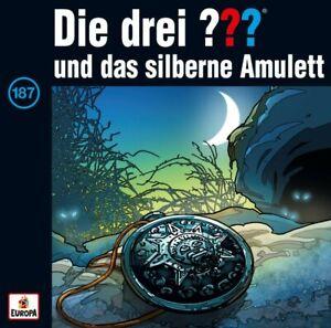 Die-Drei-Fragezeichen-187-Und-Das-Silberne-Amulett-CD-NEU-amp-OVP
