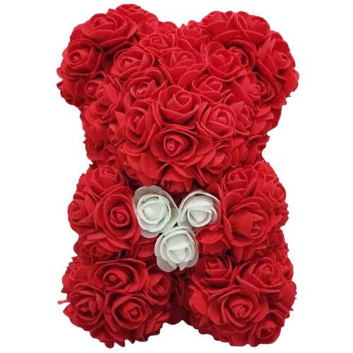 künstliche Blumen Yanten Blume Rose Bär Valentine Geburtstag Jahrestag Ge