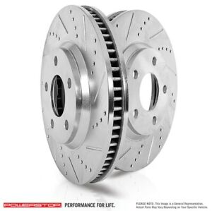Power Stop AR8174XPR EVO Drilled/Slotted Brake RTR Pair RR For 05-14 Mustang NEW