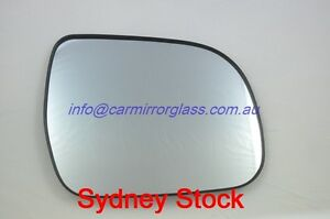 RIGHT-DRIVER-SIDE-TOYOTA-KLUGER-2007-2014-MIRROR-GLASS-WITH-BASE