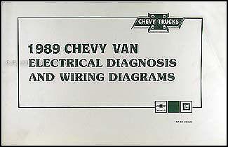 1989 chevy g van wiring diagram manual g10 g20 g30 sportvan chevrolet  beauville | ebay  ebay