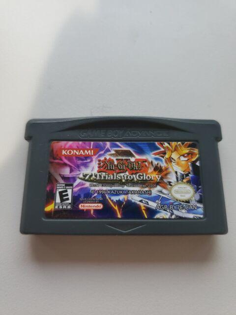 Yu Gi Oh 7 Trials to Glory Nintendo Game Boy GameBoy Advance