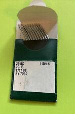 Nos 29bd 1104 12 Groz Beckert Sewing Needle Pk Of 10 Free Shipping