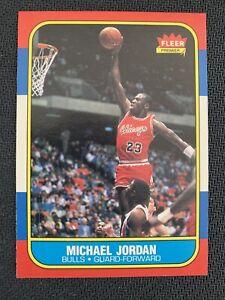 1986 Fleer Basketball Complete Set - Partially Graded