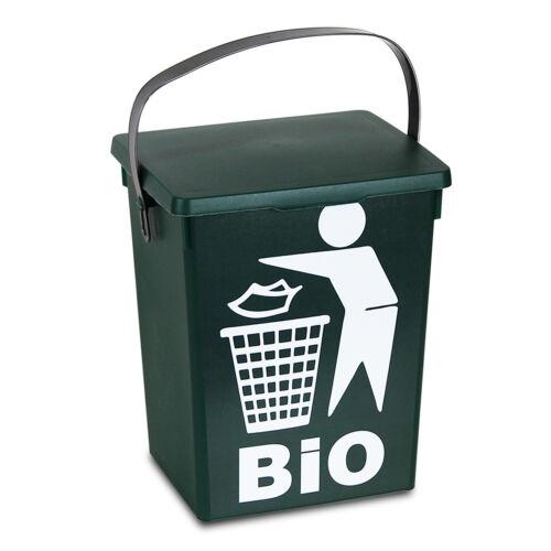 5 L petite table top Nourriture Recyclage Poubelle de cuisine de recyclage des déchets Ordures Peel