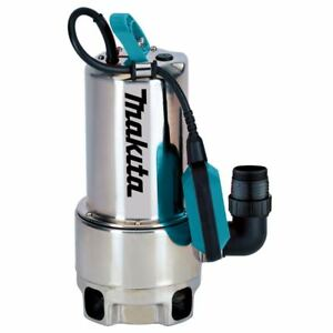 Makita-Tauchpumpe-PF1110-fuer-Klar-amp-Schmutzwasser-1100-Watt