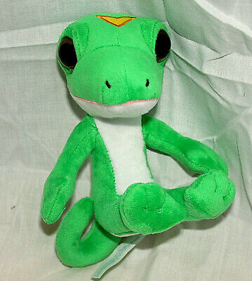 Geico Insurance Gecko Advertising Adult Plush Collectible Figure New Motorcycle