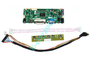 "HDMI+DVI+VGA LCD driver Controller board Kit for 10.1/"" N101L6-L01 LED 1024x600"