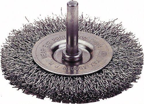 "Firepower 1423-2103 Circular Wire Wheel Brush 14232103 3/"" Diameter Fine"