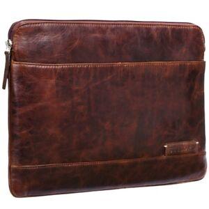 Für robb Vintage 13 14 Zoll Stilord Tablets 3 Macbooks Laptoptasche Leder qBPUwFvt