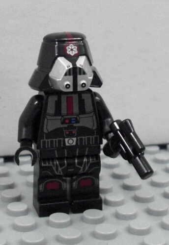 Figur Minifig NEU NEW 75001 black LEGO Star Wars Sith Trooper schwarz