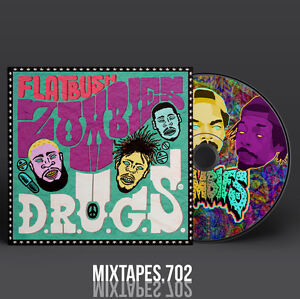 Flatbush-Zombies-D-R-U-G-S-Mixtape-Full-Artwork-CD-Front-Back-Cover-Drugs