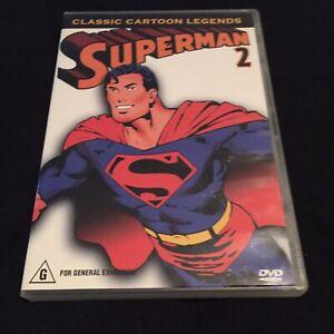 Superman-Vol-2-Classic-Cartoon-Legends-DVD-Near-Mint-Region-4