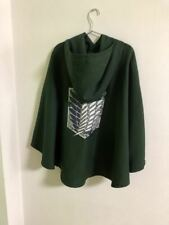2017 Anime Attack On Titan Cloak Survey Corps Cotton Hooded Cape Cosplay Costume