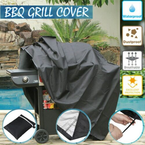 S// M// L// XL BBQ Cover Waterproof Barbecue Covers Garden Patio Grill Protector