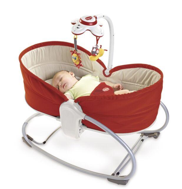 Tiny Love 3 In 1 Baby Rocker Napper Vibrating Swings Music Bouncer Feeding Chair