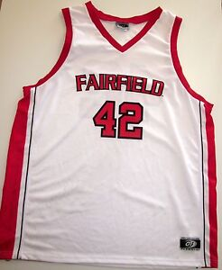 promo code 7b12b ce165 Details about FAIRFIELD STAGS BASKETBALL JERSEY NCAA #42 MEN'S EXTRA LARGE  NEW! XL
