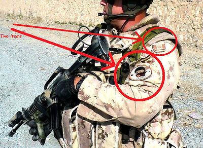 German Flag//Tab ISAF KANDAHAR WHACKER© KILLER ELITE NATO JSOC SP OPS KSK SSI