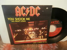 "ac/dc""you shook me""single7"".fr.or.1981.at:atl:11600.promo + encart pour juke-box"