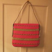 Eric Javits Law Squishee Shoulder Bag – Fuchsia Mix – NWT $390