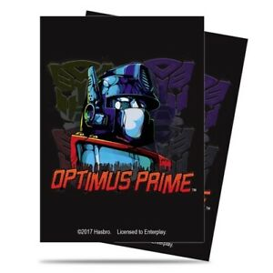 Ultra-PRO-65-Standard-Deck-Protector-Sleeves-Transformers-Optimus-85071-Magic