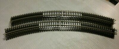 HORNBY TRACK R609 8x DOUBLE CURVE 3RD RAD