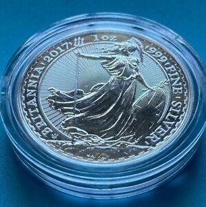 2017 British Britannia 1 oz Silver .999 Fine