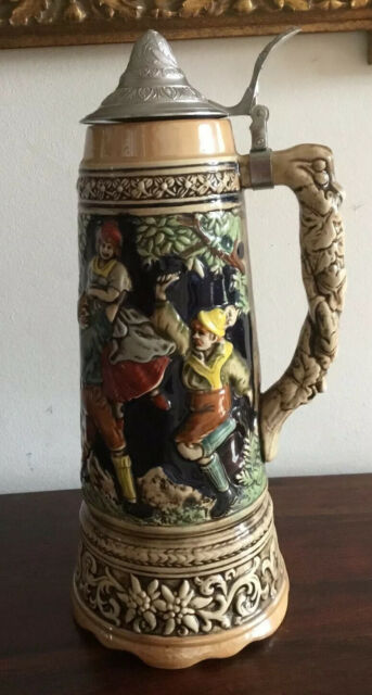 Fantastic Very Large Ceramic Beer Stein