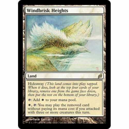 MTG LORWYN  Windbrisk Heights foil