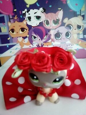 100% Vero Abbigliamento E Gadget Made For Lps Littlest Pet Shop-mostra Il Titolo Originale