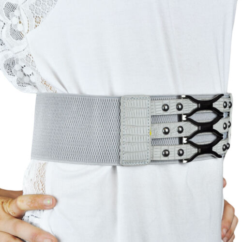 Mad Design Style One Size Fits Most Womens Girls Chain Braid Stretch Belt
