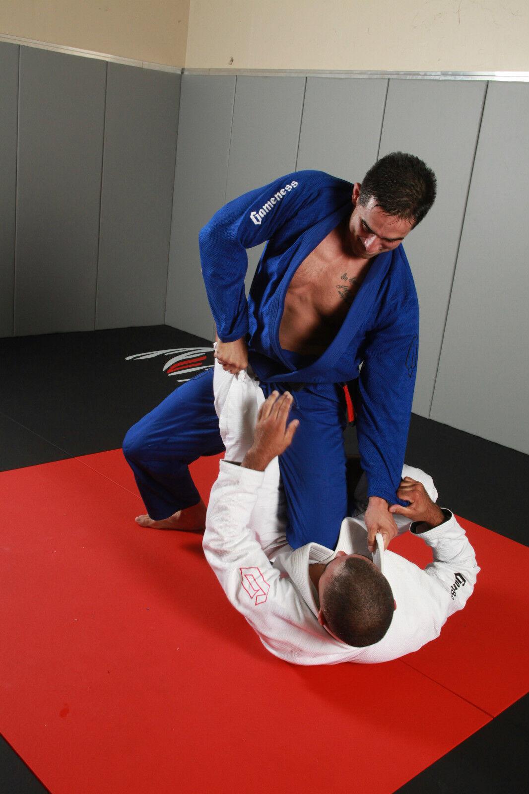 gameness AIR BJJ Gi bleu Brésilien Jiu-Jitsu Gi Kimono Uniforme Uniforme Uniforme 0b1979