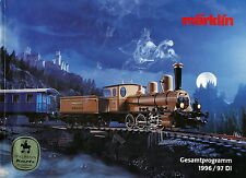 Katalog Märklin Gesamtprogramm 1996 1997 450 S 1,29 kg Marklin Broschüre german