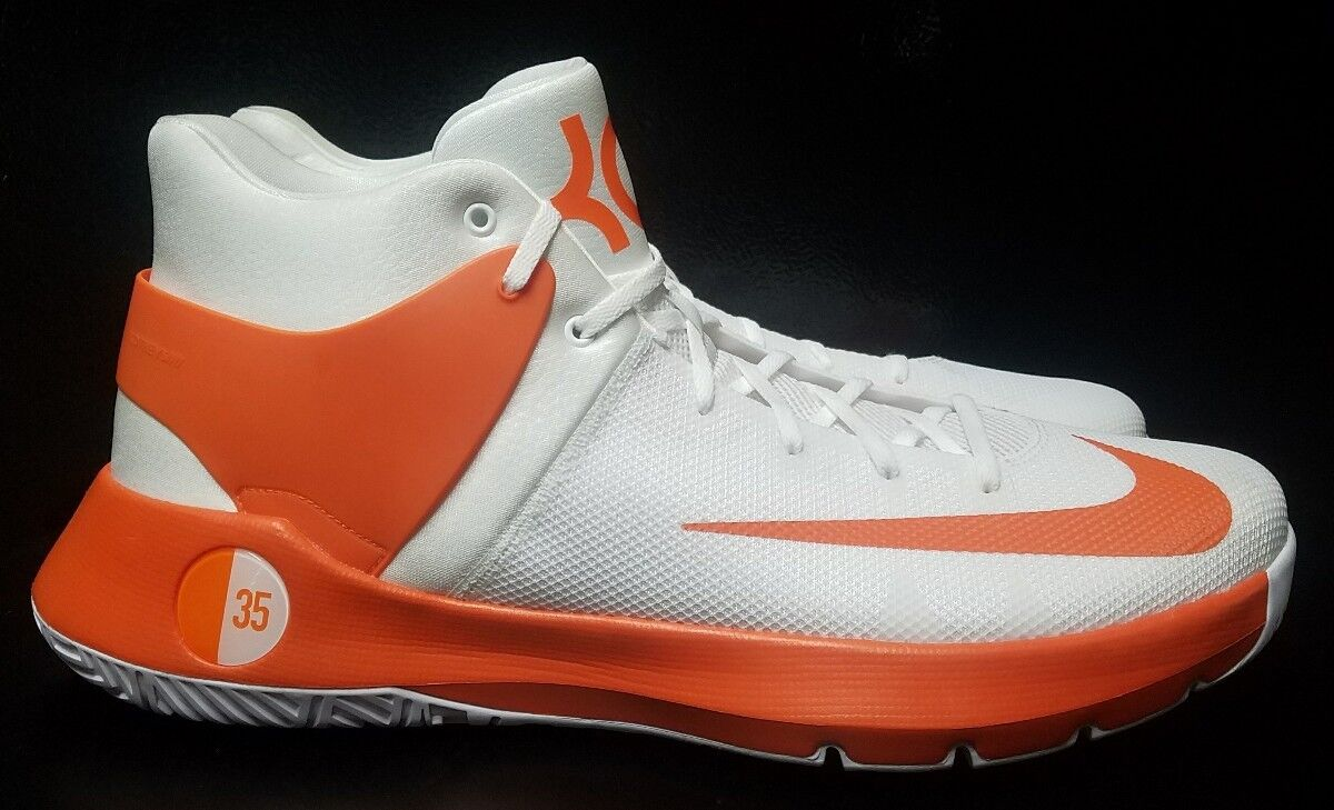 Nike KD Trey 5 IV promo Basketball naranja blanco 856484-180 comodos hombres zapatos comodos 856484-180 marca de descuento 9aeb3b