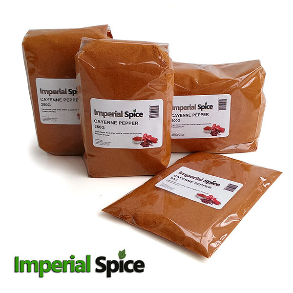 Chilli Powder - Top Quality Authentic Cayenne Chilli Pepper Powder 20g to 500g