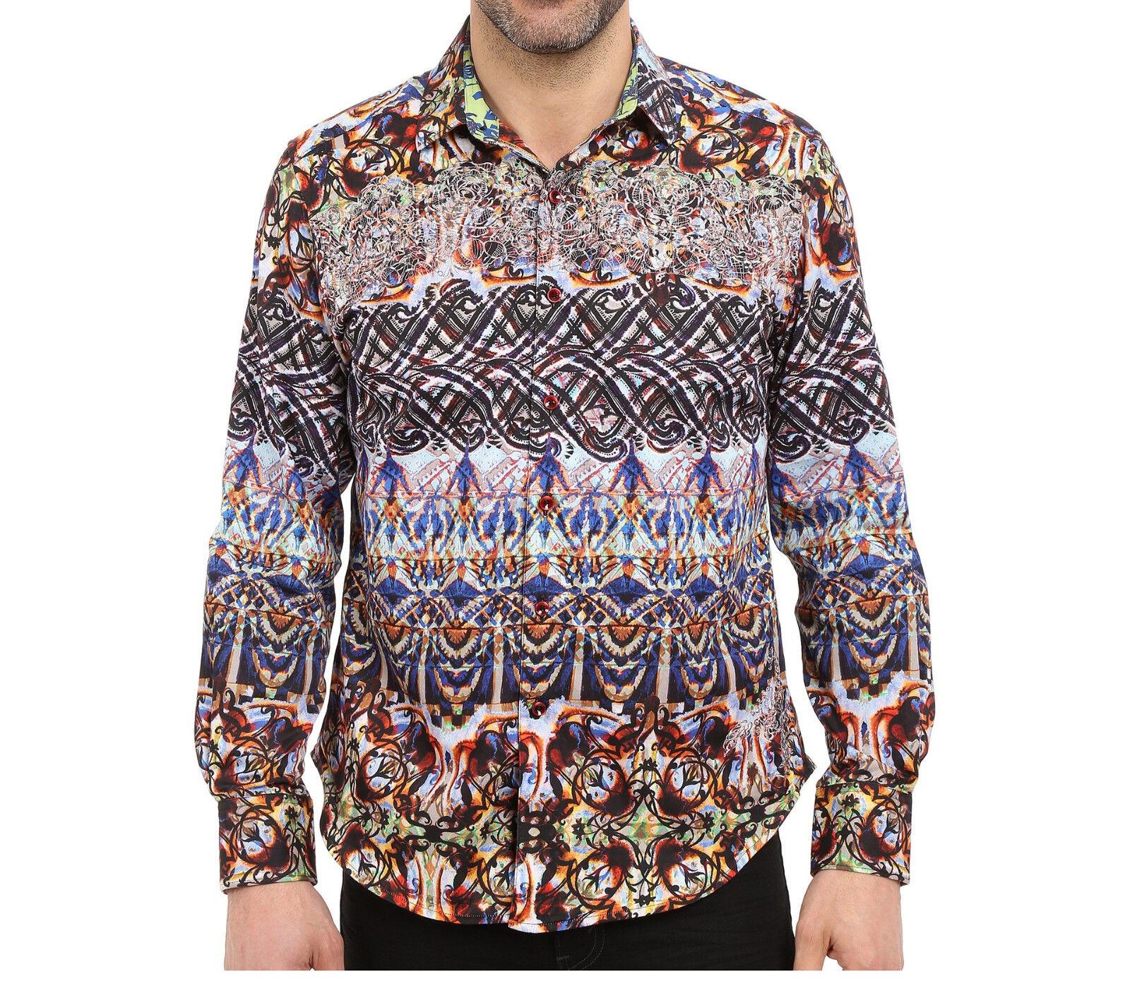 Robert Graham Dwellers CLASSIC FIT Men's Sport Shirt - Size LARGE - NWT