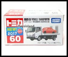 JAPAN TOMICA 60 ISUZU ELF VEHICLE TRANSPORT DIECAST SPIELZEUGAUTO MODELL 879466