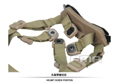 FMA Memory Foam Protective Pad /& Suspension Liner For Ballistic Helmet M//L L//XL