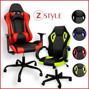 Sedia Poltrona da Gaming per Ufficio reclinabile Imbottita ergonomica GTX RTX