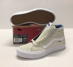 0829c716c1 Image is loading VANS-SK8-HI-PRO-VN0VHGGNJ-ACID-WASH-WHITE